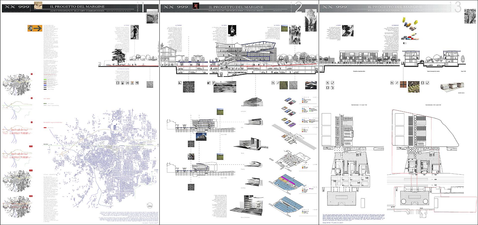 Concorso europan 6 alessio costanzo architetto - Tavole di concorso architettura ...